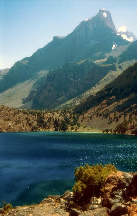 Фотографии Таджикистана. Озеро Алаудин